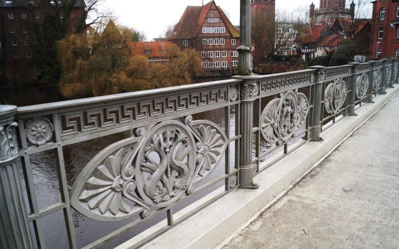 Altenbrückertorbrücke Geländer © Fleddermann