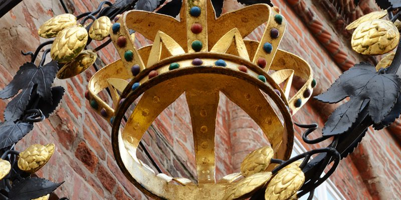 Die Krone weist eindrucksvolle Details auf © Böhnlein/Lachenicht/Müller