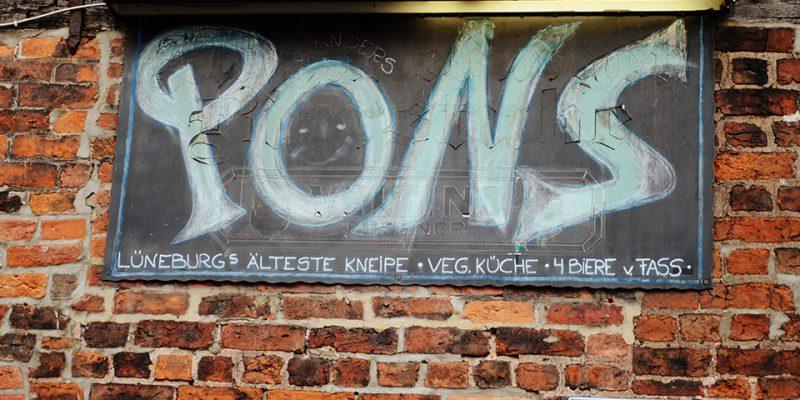 Das Pons ist heute vor allem bei Studierenden sehr beliebt © Böhnlein/Lachenicht/Müller