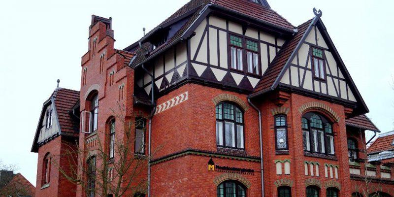 Exemplarisches Gebäude für den Stilmix im Historismus: Die Villa Heinzmann in der Volgerstraße 32. © Fleddermann