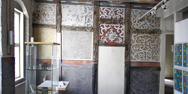 Blick in den Ausstellungsraum des Kunstvereins im zweiten Obergeschoss © Eikel/Jessen