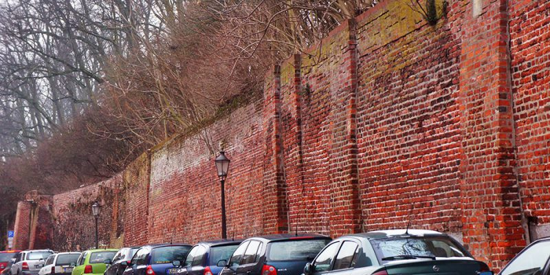 Überreste der Bardowicker Mauer © Bokop/Seidler