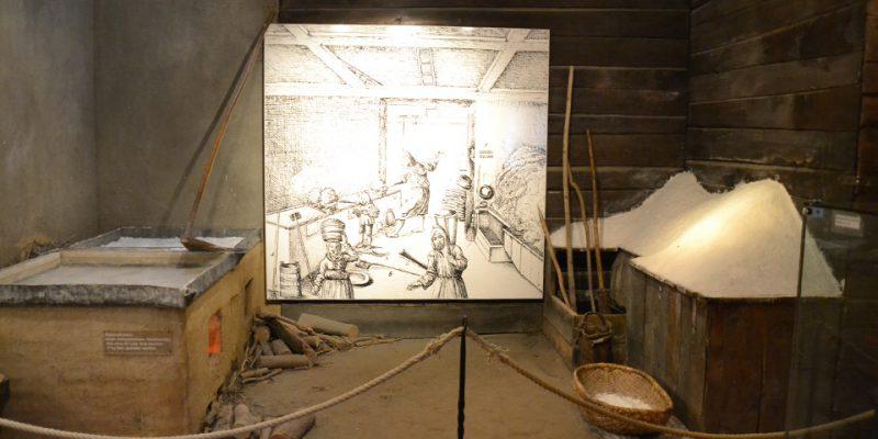 Rekonstruktion eines mittelalterlichen Siederaumes © Golombek/Lubitz