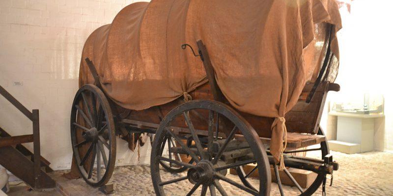 Historischer Pferdewagen © Golombek/Lubitz