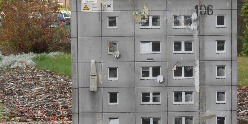 Umgestalteter Stromkasten Ecke Kefersteinstraße / Wilschenbrucher Weg © Ludley/Bergmann