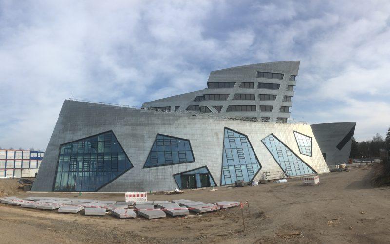 Das neue Zentralgebäude, © Fricke