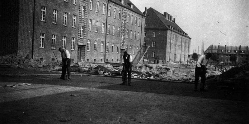Der Bau der Scharnhorstkaserne (1936) © Sammlung Zühlsdorff