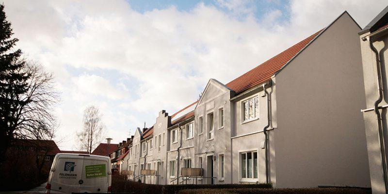 Modernisierte Häuser mit Staffelgiebel © Ruhkopf/Götz
