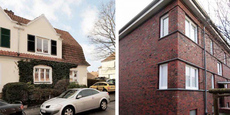 Mansarddächer und Gauben sind typische Stilelemente der Heimatschutz-Architektur. © Ruhkopf/Götz