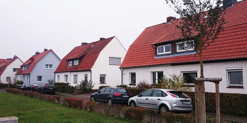 Idyllische Doppelhäuser in der Ernst-Braune-Straße © Ruhkopf/Götz