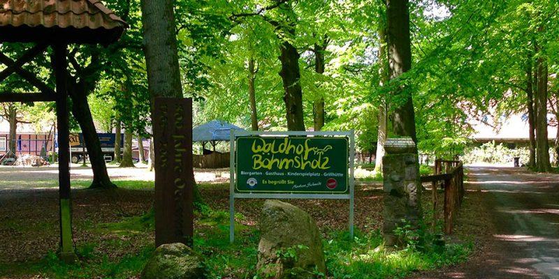 Rastmöglichkeit im Waldhof Böhmsholz © Rosenau/WItt