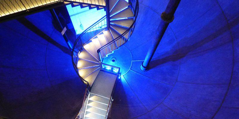 Treppenkonstruktion im alten Wasserbehälter © Jahn/Schlump