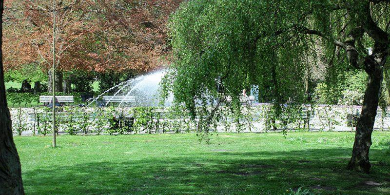 Springbrunnen © Scheidt