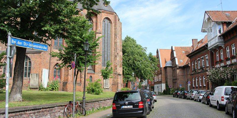 Bei der St. Johannis Kirche © Le Hir/Seibel