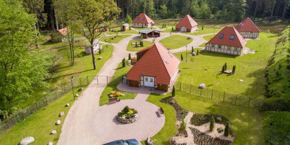 Das idyllische Schäferdorf © Wildpark Lüneburger Heide
