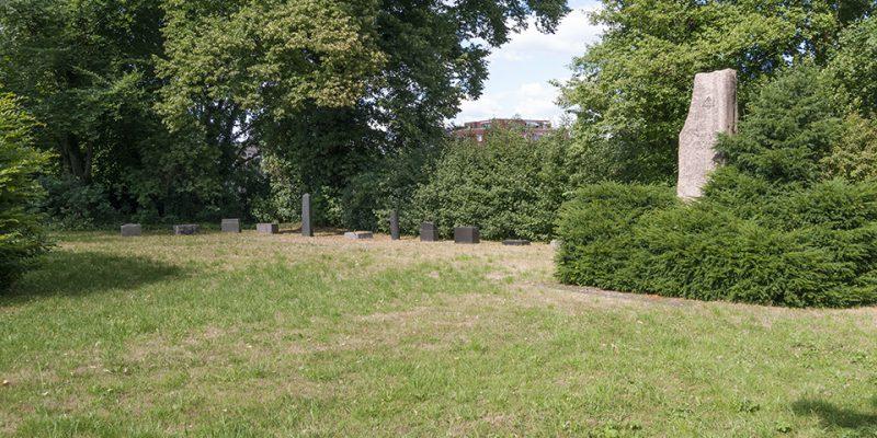 Jüdischer Friedhof Übersicht © Köster/Seebo