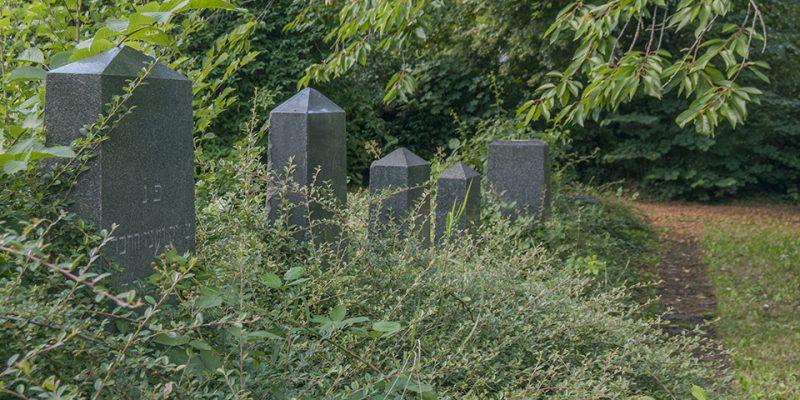 Jüdischer Friedhof Grabsteine © Köster/Seebo
