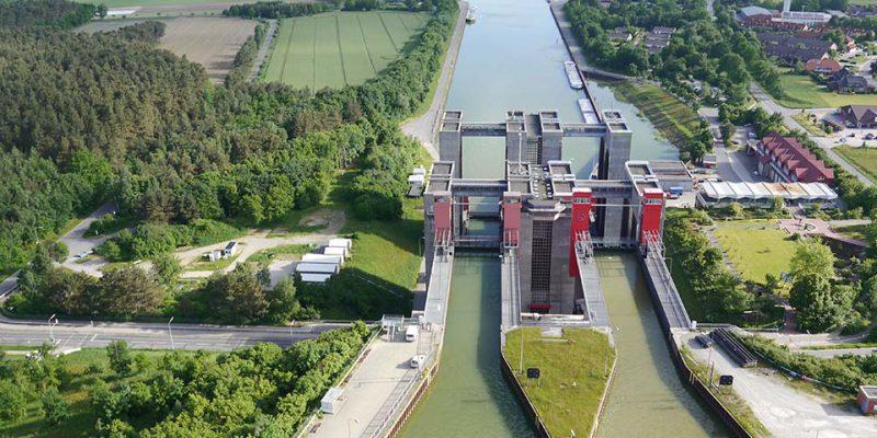 SHW Luftbild von Süden © Wasser- und Schifffahrtsamt Uelzen