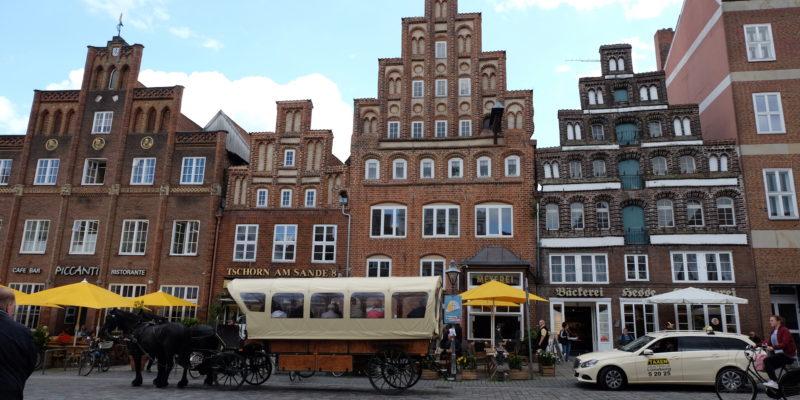 Der Knotenpunkt des Lüneburger Verkehrssystems, nicht nur für Busse © Langemeyer