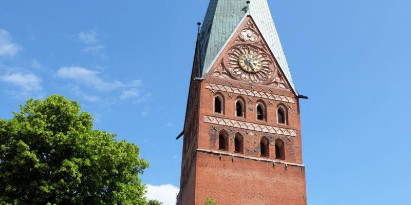 Frontansicht Hauptkirche St. Johannis © Langemeyer