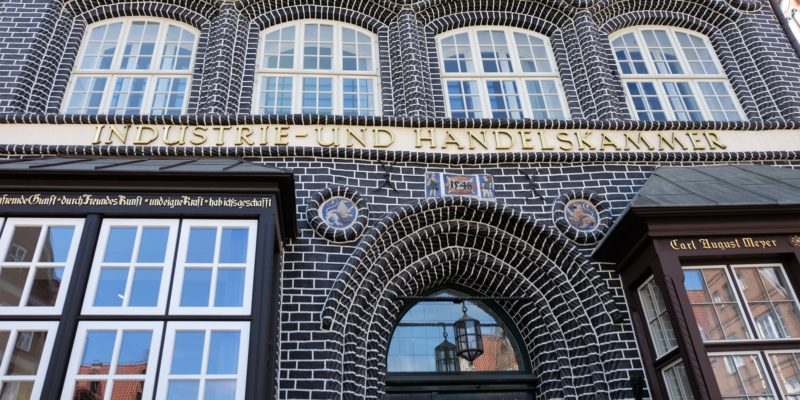 Seit Ende des Zweiten Weltkriegs ist das Gebäude Sitz der Industrie- und Handelskammer © Langemeyer