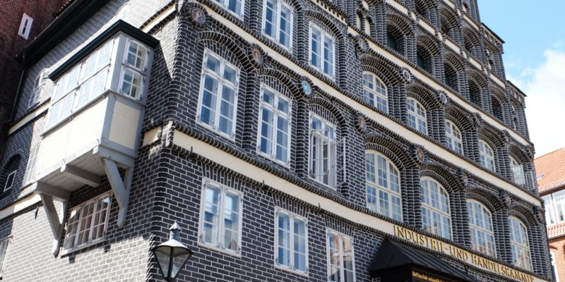 Das Gebäude aus Sicht der Heiligengeiststraße © Langemeyer