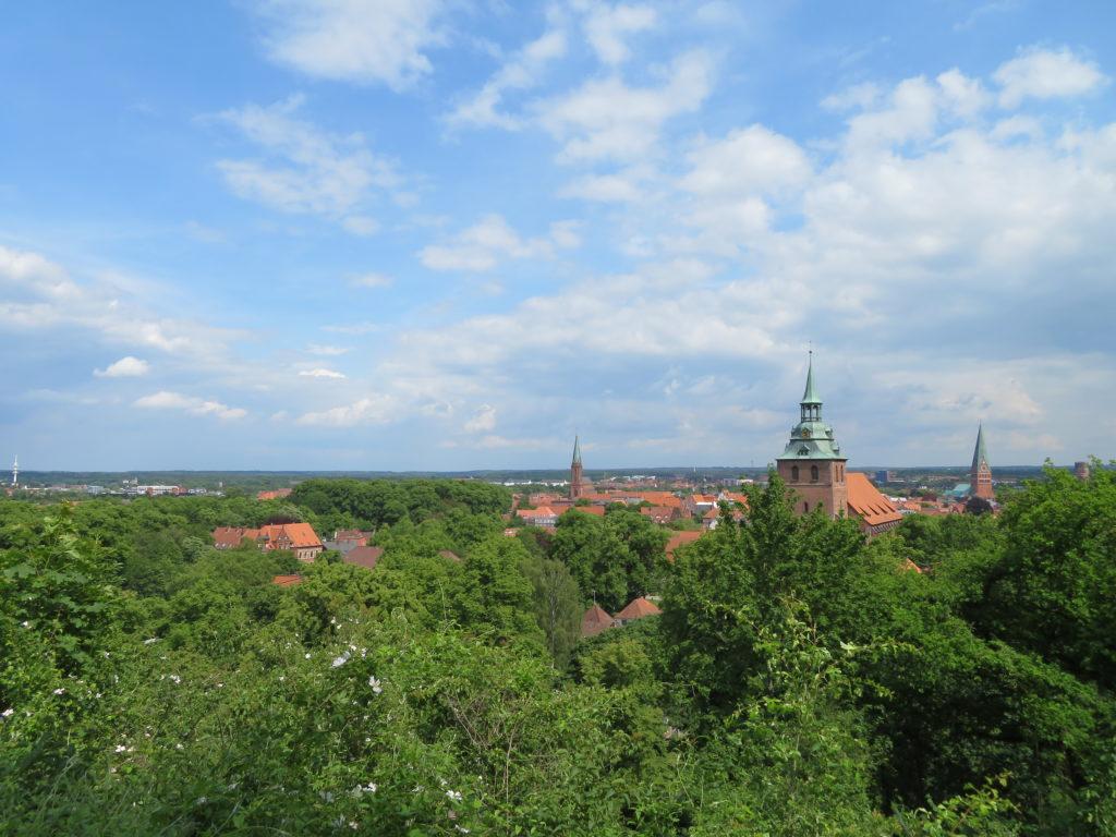 Es ist Frühling in Lüneburg – Blick vom Kalkberg © Grosser