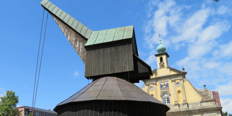 Der alte Kran am Stint-Markt © Grosser