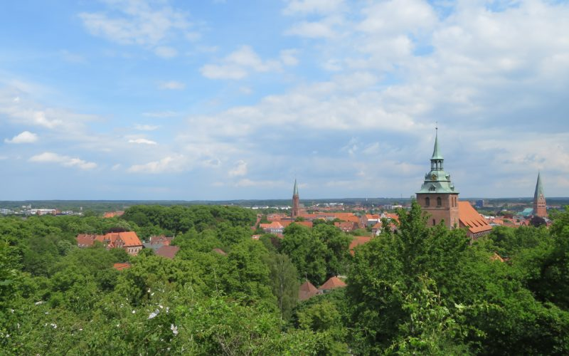 Ausblick auf Lüneburg © Grosser