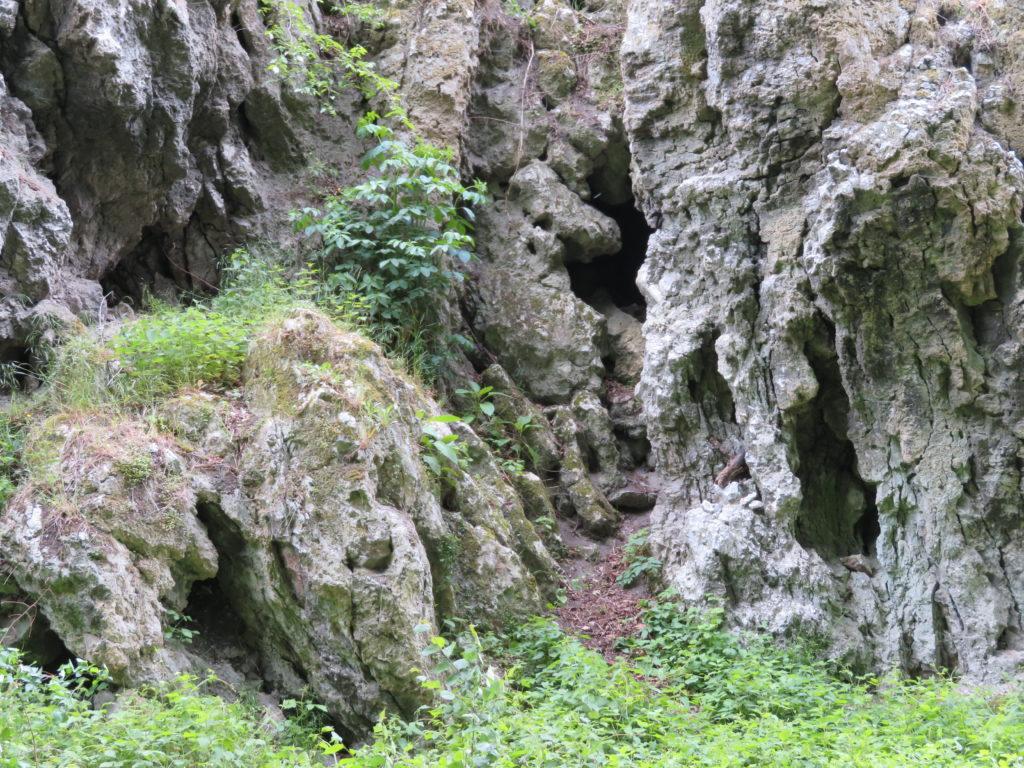Gesteinswände des Kalkbergs © Grosser