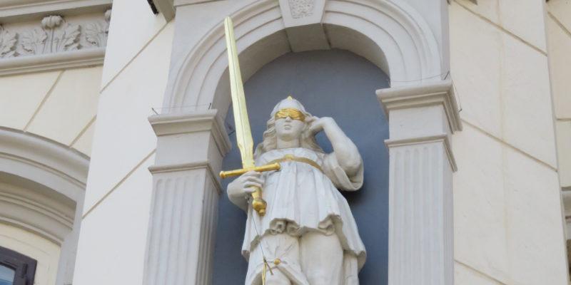 Iustitia, die Gerechtigkeit © Grosser