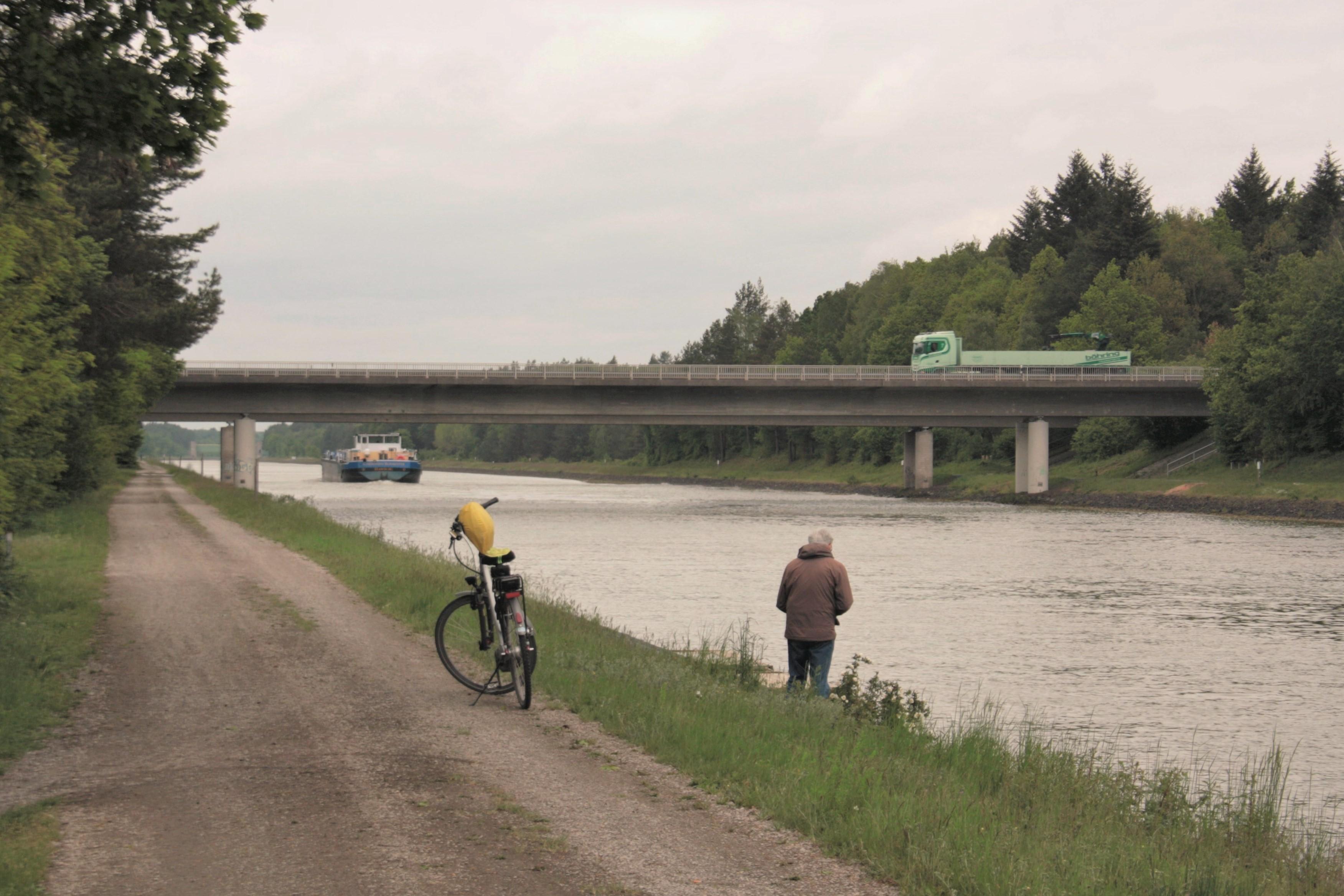 Der ESK lässt sich zu Fuß, zu Fahrrad und zu Schiff erkunden © Remmers