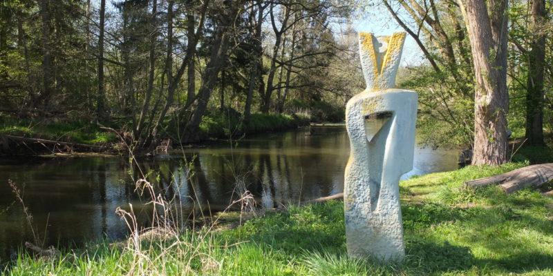 """Die """"Flusswächterin"""" wacht über Ilmenau und Umgebung © Hoppe/Morawietz"""