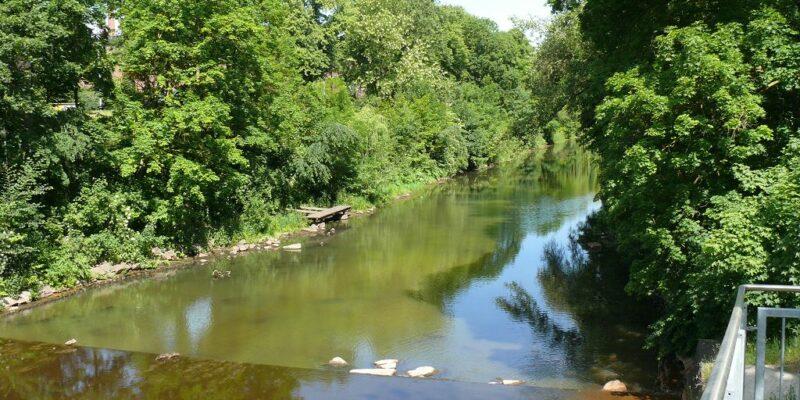 Der Lösegraben schützt vor Überschwemmungen © Stumpe