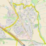 Karte von Bardowick mit dem Streckenverlauf der Nordschleife © Open Street Map
