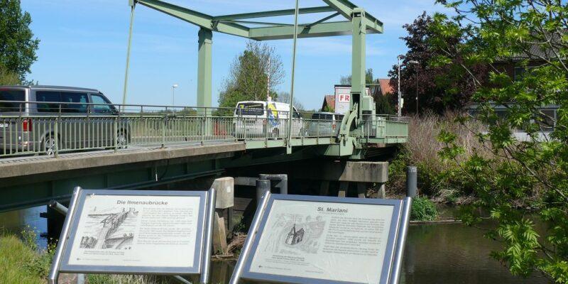 Die Ilmenau-Brücke in Bardowick © Stumpe