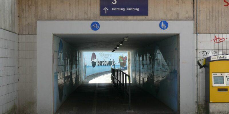 Unterführung am Bahnhof Bardowick © Stumpe
