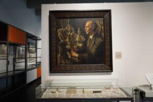 Portrait des früheren Museumsleiters Wilhelm Reinecke © Hardt/Gelbe