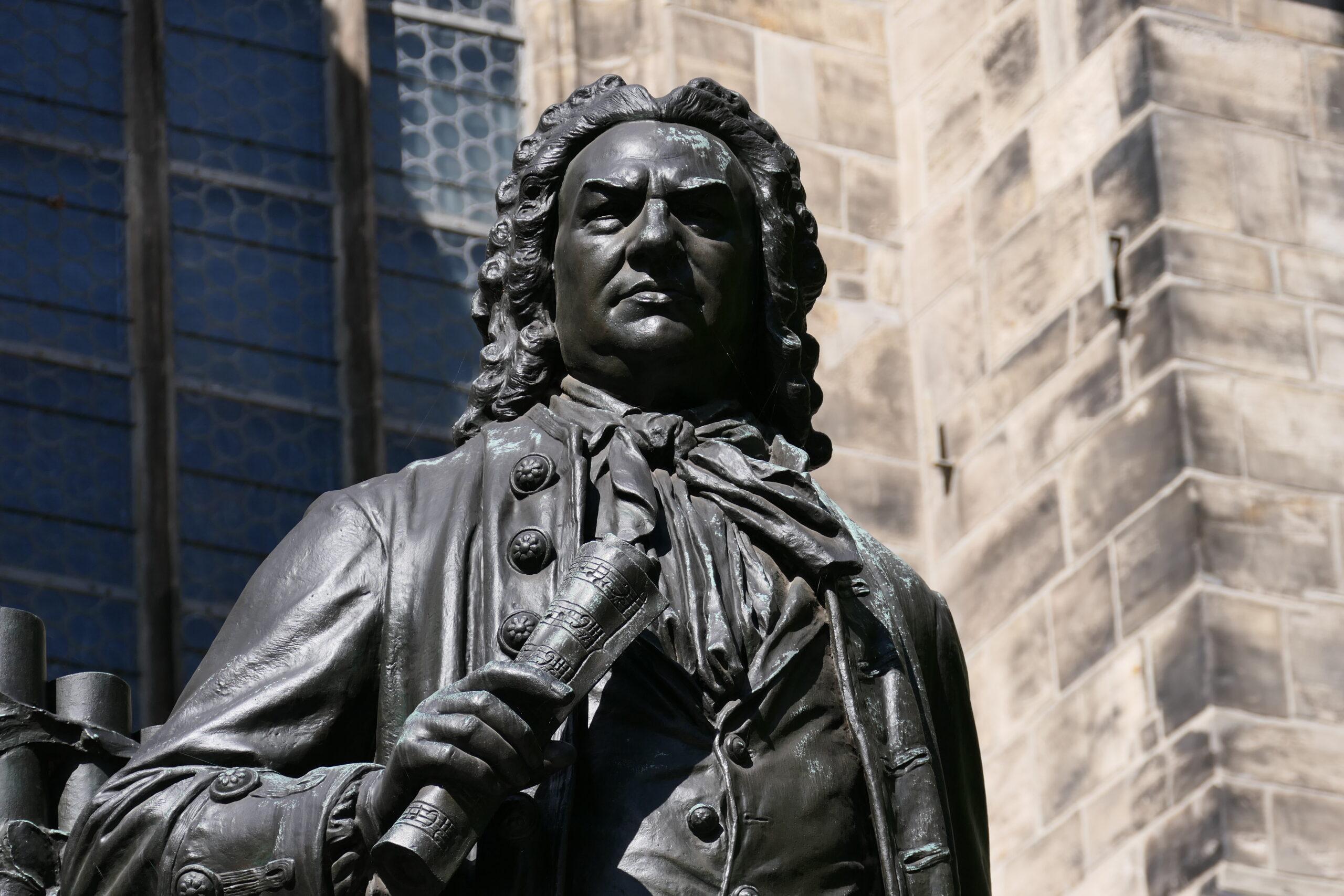 Johann Sebastian Bach Statue in Leipzig © Dahmen